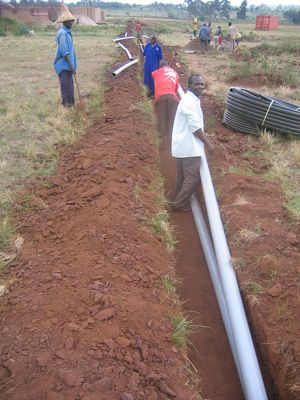 Pipes And Sewage System