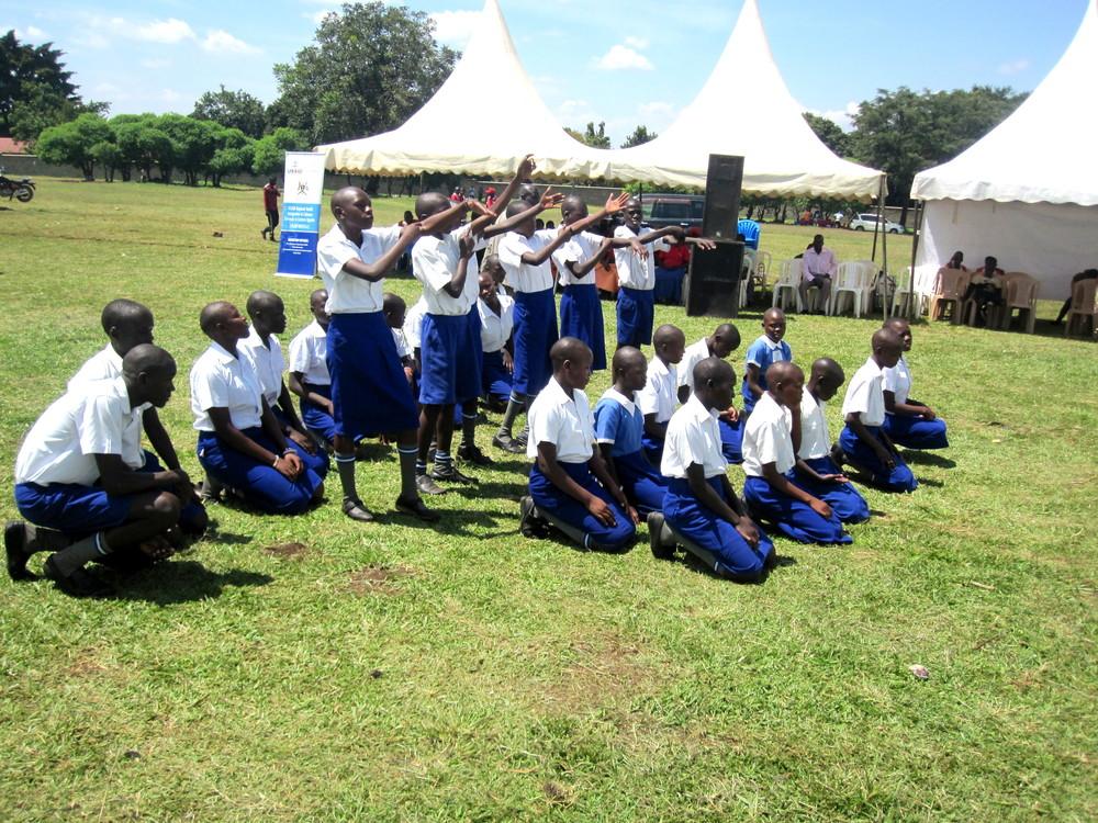 Kimbilio Children On World AIDS Day