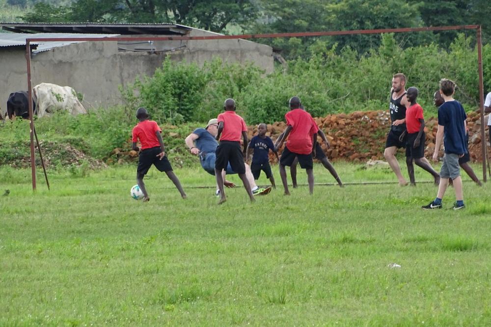 Football Fun Between Kimbilio & Germany