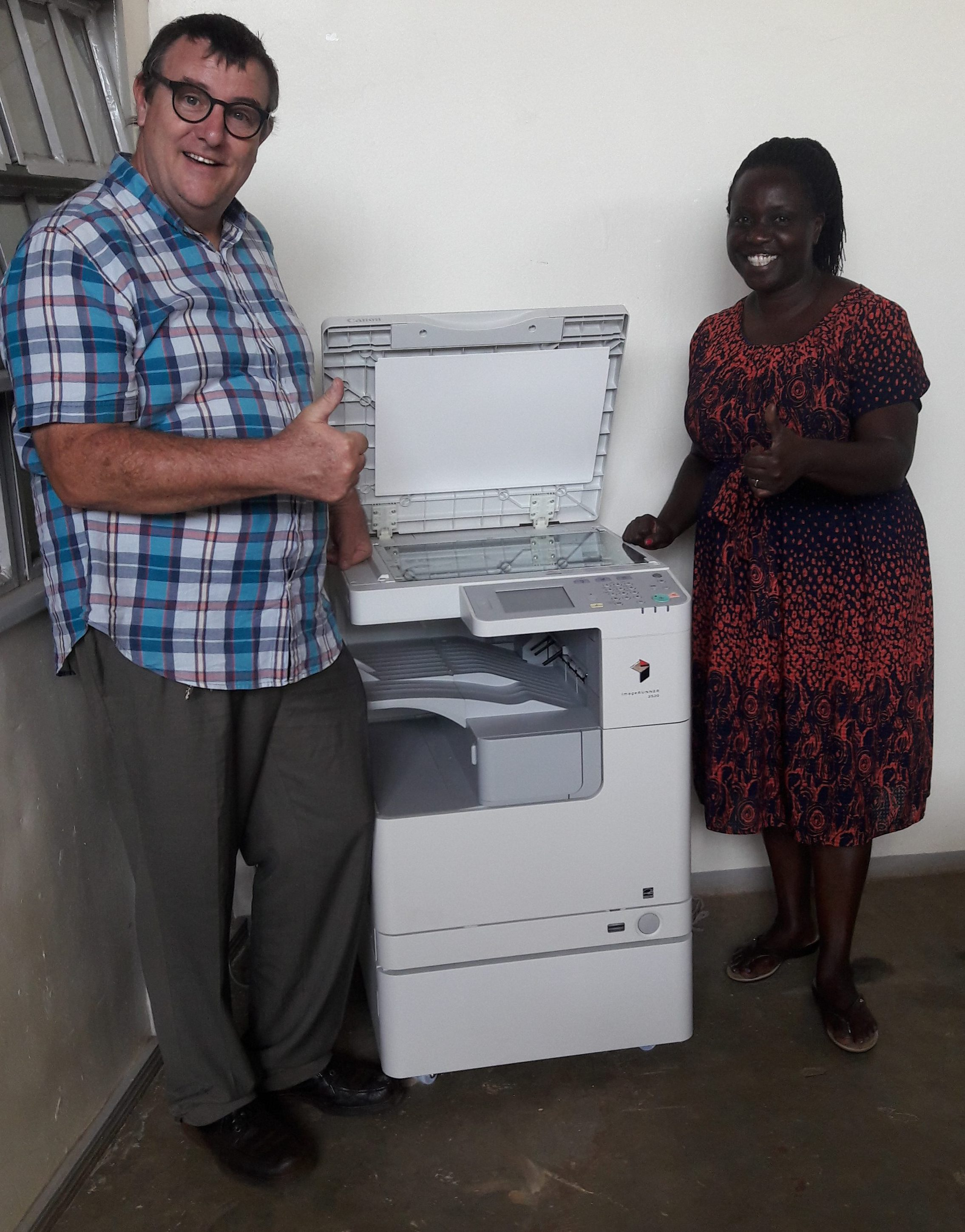Our new Photocopier