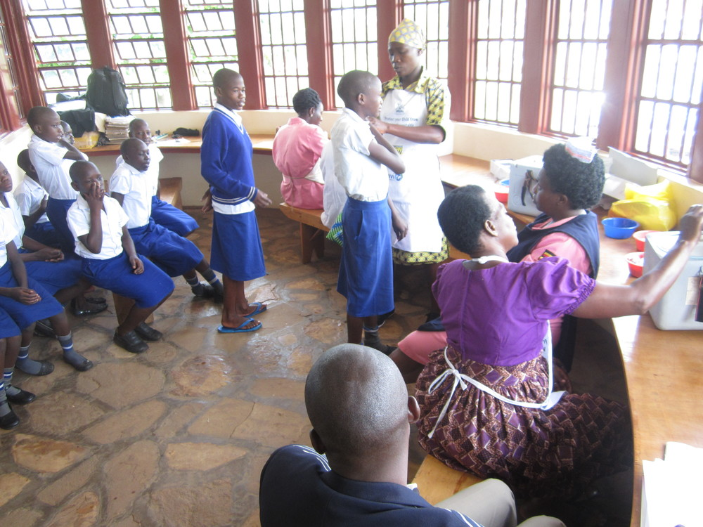 Kimbilio Children Under 15 Get Measles Rubella & Polio Vaccine