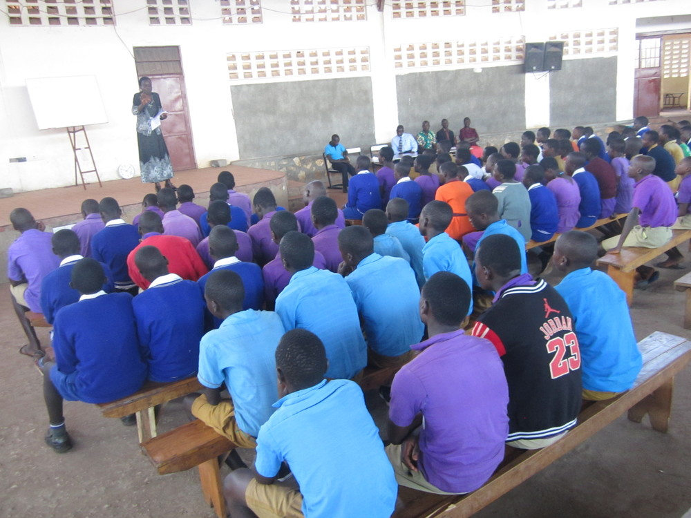 2019- PLE Candidates Being Briefed