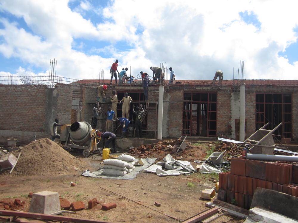 Dormitory Concrete Casting