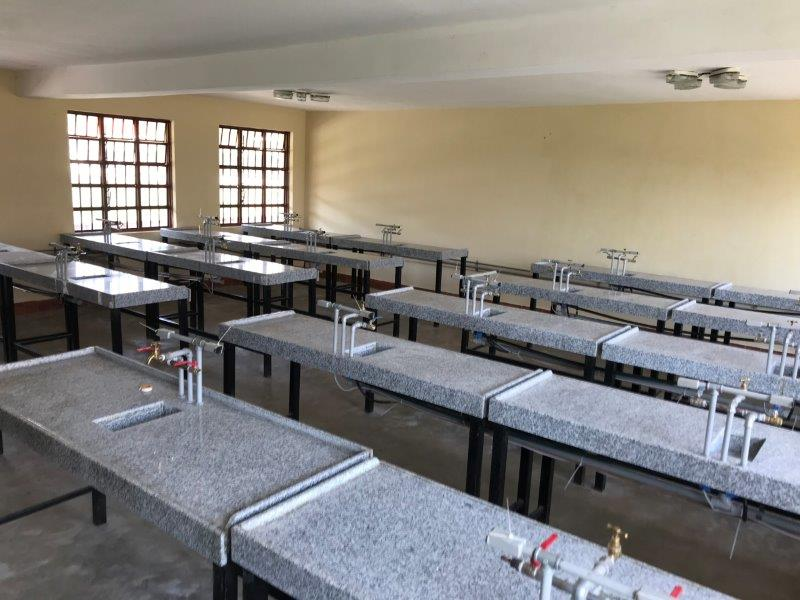 The new Chemistry Lab, funded by friends of the group